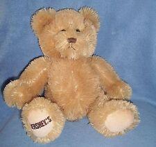 HERSHEY'S Chocolate Candy TEDDY BEAR PLUSH very very soft PROMO advertizement 14