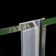 h-Type Bath Door Shower Screen Seal Strip | 6mm~12mm Glass | Sealing 0~10mm Gap