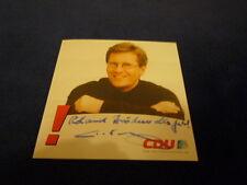 CHRISTIAN WULFF signed Autogramm InPerson BUNDESPRÄSIDENT altes Autogramm