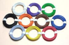 (0,11 €/m) 10 m Toron 0,14 mmâ² cuivre Toron Boutons Toron Câble libre choix de la couleur