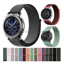 New Woven Nylon Sport Loop Bracelet For Samsung Gear S3 Galaxy Watch Band Strap