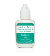 Premium Liquid Glue Remover with Vitamin E 10/20ml - Eyelash Extensions