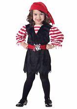 New Cutie Pirate Toddler Halloween Costume