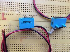 IP67 miniatura Microswitch SPST NC contatti oro 100mA 300mm ABJ572841 Qtà Multi
