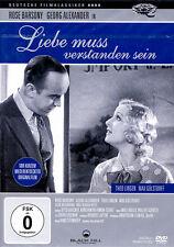 LIEBE MUSS VERSTANDEN SEIN - Rose Barsony,Theo Lingen,Peter Alexander (DVD)*NEU*