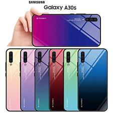 COVER per Samsung Galaxy A30s ORIGINALE Gradient Glass RETRO VETRO TEMPERATO