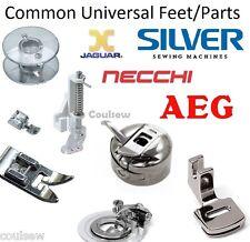 Universal Sewing Machine Most Common Feet / Foot Shank, Bobbins & Parts