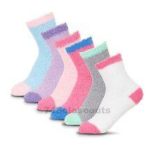 New Lot 6-12 Pairs Womens Soft Cozy Fuzzy Warm Striped Slipper Socks Size 9-11