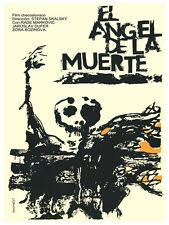 El Angel de la muerte.Angel of death POSTER.Graphic Design.Wall Art Decor.3019