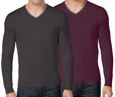 New Club Room Men's Big&Tall Merino Wool Blend V-Neck Sweater Size 2XLT MSPR $96
