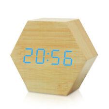 réveil de voyage jaz the time machine horloge Alarm Digital LED Hexagon Clock
