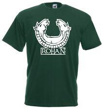 T-Shirt Movie J726 Signori dei cavalli di Rohan Il signore degli anelli