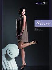 "Fiore ""Idalia"" Feinstrumpfhose, Satin Sheers, 20 DEN, neu, Gr. S - L, sexy & OVP"