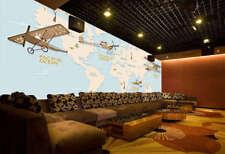 Across Four Oceans 3D Full Wall Mural Photo Wallpaper Printing Home Kids Decor