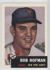 1991 Topps Archives The Ultimate 1953 Set #182 Bobby Hofman New York Giants Card
