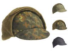 AB BW Wintermütze Mütze Kappe Cap Bundeswehr Oliv Flecktarn Blau Gr. 53-64