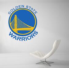 Golden State Warriors Basketball NBA Wall Decal Vinyl Decor Car Sticker Art J01