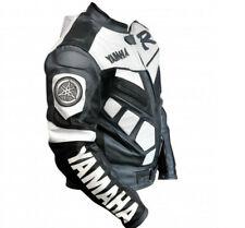 HAUT R Hommes Cuir Biker Veste Courses Sports Cuir Veste Moto Cuir Veste EU 56