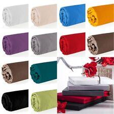 Jersey draps housses Drap housse Bande élastique 100/140/160/180 / 200x220