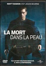 DVD ZONE 2--LA MORT DANS LA PEAU--DAMON/GREEGRASS/COX/STILES/POTENTE