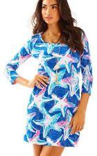 NEW WT Lilly Pulitzer BEACON DRESS T Shirt Indigo SEA STAR Struck Blue S M L XL