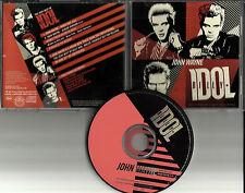 BILLY IDOL John Wayne w/ RARE EDIT USA PROMO Radio DJ CD Single 2008 MINT