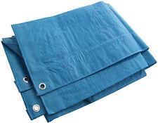 Bâche Imperméable tearproof bords renforcés Bleu Vert différentes tailles de valeur!