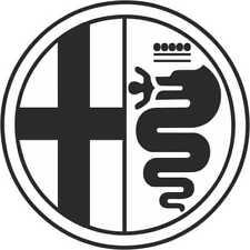 Alfa Romeo adesivo stickers  decorazioni auto moto veicoli casa ufficio