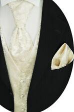 beytnur Gilet MATRIMONIO PLASTRON fazzoletto da taschino, Cravatta nr. 34.1 tg.