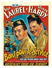 Bonnie Scotland Laurel & Hardy movie poster print #3