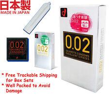 Condom Japan Okamoto 002 0.02 Zero Two Super Extra Ultra Thin Skin Polyurethane