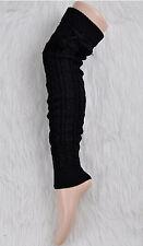 BEST PRICE Leg Warmers Women Knit Thick Long Over Knee High Hosiery Socks FT
