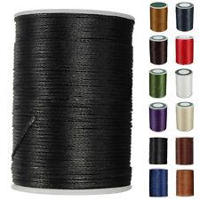 Encerado Hilo 0.8mm 78M Poliéster Cuerda Ribete Costura Costura Manualidades
