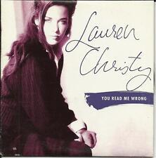 LAUREN CHRISTY You Read Me Wrong w/RARE SINGLE EDIT RADIO PROMO DJ CD Single 93