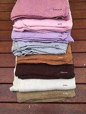 Newborn Knit Blanket Wrap Baby Photo Prop fabric Backdrop Heavy Duty Knit Layer