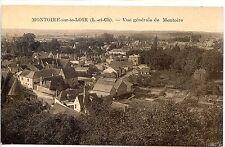 CP 41 LOIR ET CHER - Montoire-sur-le-Loir - Vue générale