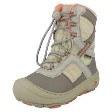 Girls Hi-Tec Casual Waterproof Toggle Lace Snow Boots Slalom 200