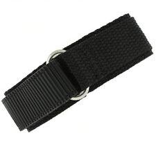 Hook and Loop Watch Straps Nylon Sports Waterproof Watchband Tech Swiss
