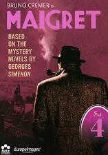 Maigret: Set 4 (DVD, 2012, 6-Disc Set) Episodes 19-24