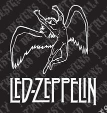 Led Zeppelin Swan car truck vinyl decal sticker Rock heavy metal