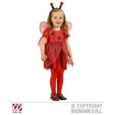 Marienkäfer Kostüm Kinder Kleid und Flügel Marienkäferkostüm Fasching Halloween