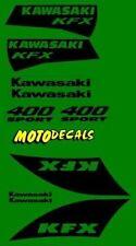 KFX400 Plastics Fender Graphics Decal Sticker Kit For KFX 400 Tank Emblems