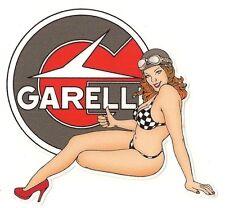 GARELLI  left Pin up gauche  Sticker