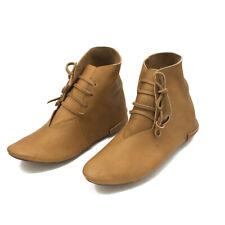 Mittelalter Schuhe wendegenäht Herren u Damen Wendeschuhe Reenactment Stiefel
