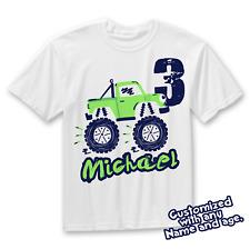 Monster Truck Birthday Shirt, Monster truck shirt, Monster truck Birthday