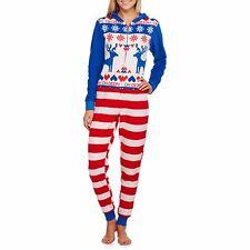 NEW Women's One Piece Ugly Sweater Costume Union Suit Pajama Bodysuit L XL 2XL