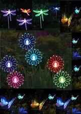 Garden Light Solar Power Butterfly Dragon Sunflower Led Light Colour Changing