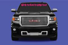 Girls Drive Trucks Too Truck Windshield BROW Sticker/Decal Graphics
