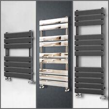 Modern Designer Flat Panel Heated Bathroom Towel Rail Radiator Chrome Anthracite