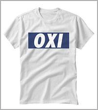 T-SHIRT UOMO DONNA  OXI EURO GRECIA GEN0499